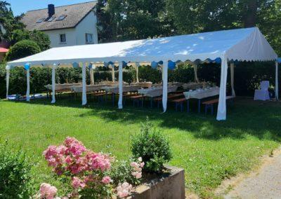 Garten Zelt Hochzeit