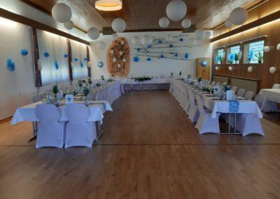 Vereinsheim Hochzeit Totale
